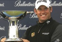 World number one Lee Westwood