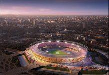 The design for London 2012's new stadium