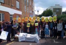 38 Degrees members in Battersea