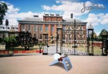 Blue Whale at Kensington Palace