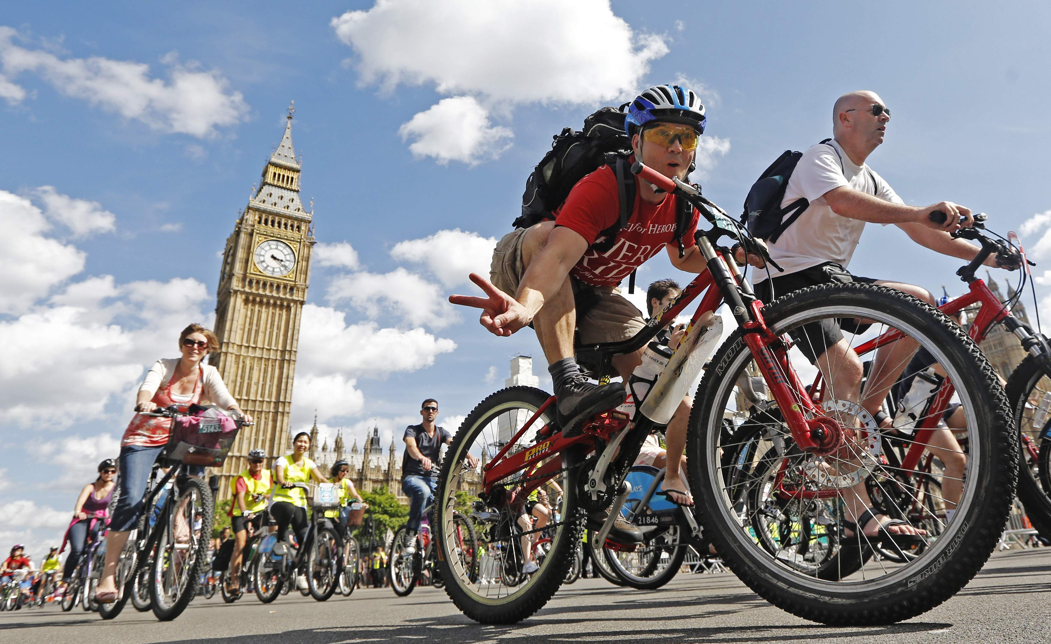 Prudential RideLondon - cycling for charity - L'ItaloEuropeo