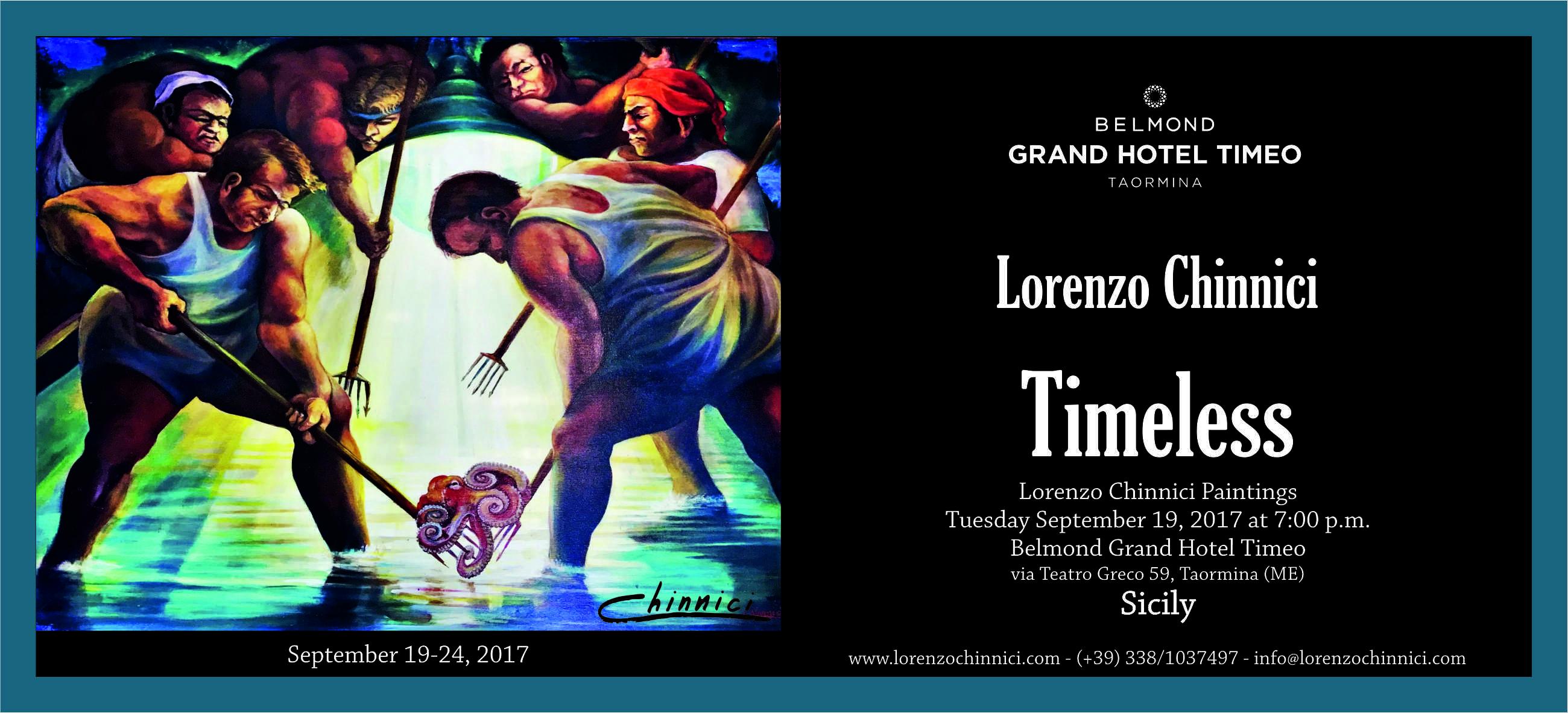 TIMELESS' AT BELMOND GRAND HOTEL TIMEO